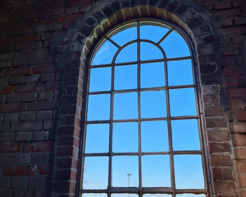 weiter Blick durch Fenster Storchennest Kesseldorf Tagestour Hamminkeln