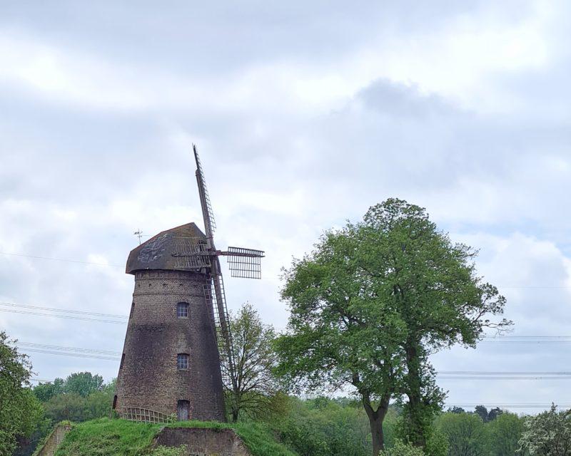Dammer Windmuehle auf Tagestour Hohe Mark RadRoute